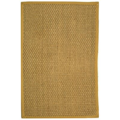 Richmond Natural/Beige Area Rug Rug Size: 6 x 9