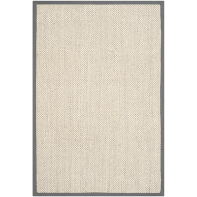 Richmond Hand-Woven Marble/Gray Area Rug Rug Size: Rectangle 4 x 6