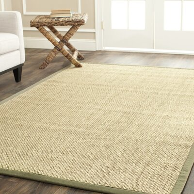 Richmond Hand-Woven Natural Area Rug Rug Size: Rectangle 8 x 10