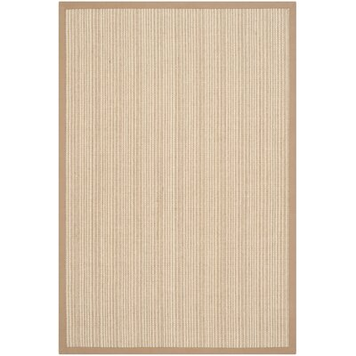 Richmond Tan Area Rug Rug Size: 4 x 6
