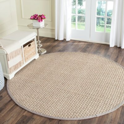 Richmond Brown Indoor Area Rug Rug Size: Round 6