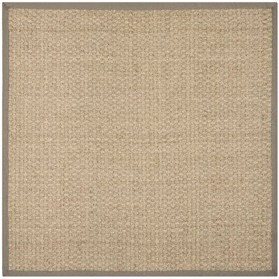 Richmond Brown Indoor Area Rug Rug Size: Square 5