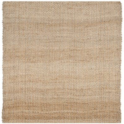Richmond Hand Woven Natural Indoor Area Rug Rug Size: Square 6