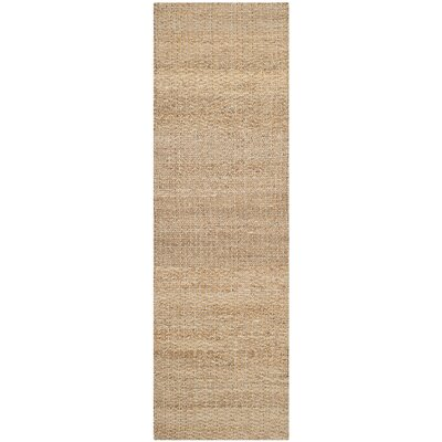Richmond Hand Woven Natural Indoor Area Rug Rug Size: Runner 26 x 8