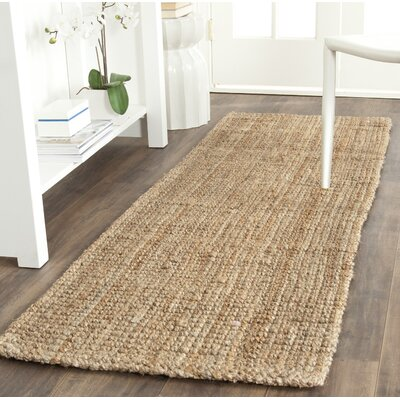 Richmond Hand-Woven Brown Area Rug Rug Size: Runner 23 x 11