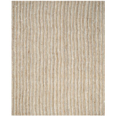 Richmond Gray/Natural Area Rug Rug Size: 8 x 10