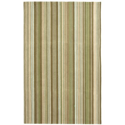 Atilia Brown Striped Area Rug Rug Size: Rectangle 3 x 5