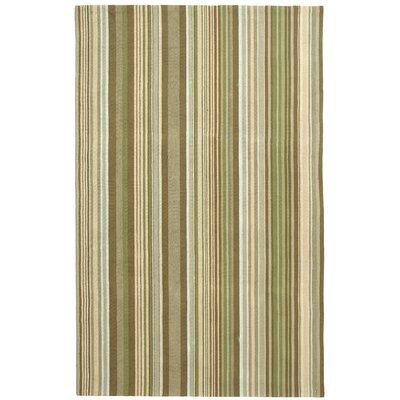 Atilia Brown Striped Area Rug Rug Size: 3 x 5