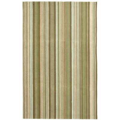 Ellenton Brown Striped Area Rug Rug Size: 5 x 8