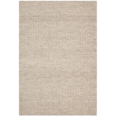 Georgiana Dark Brown Rug Rug Size: 4 x 6