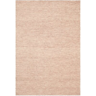 Georgiana Rust Rug Rug Size: Rectangle 4 x 6
