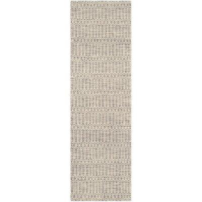 Allenstown Grey Contemporary Rug Rug Size: Runner 23 x 8