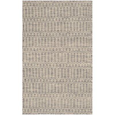 Allenstown Grey Contemporary Rug Rug Size: 4 x 6