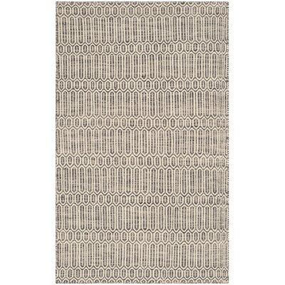 Allenstown Grey Contemporary Rug Rug Size: 3 x 5