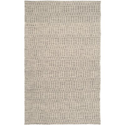 Georgiana Contemporary Grey Rug Rug Size: 5 x 8