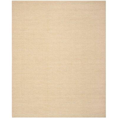 Abia Hand Woven Tan Area Rug Rug Size: Rectangle 8 x 10