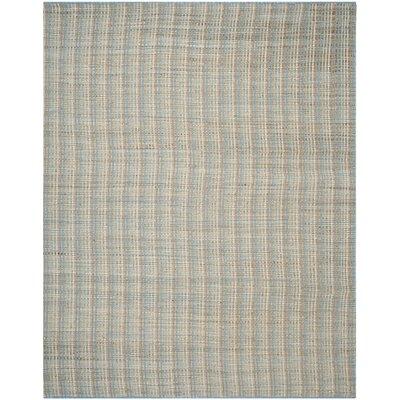 Abia Grey Area Rug Rug Size: 8 x 10