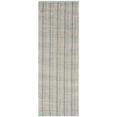 Littleton Grey Area Rug Rug Size: Runner 23 x 8