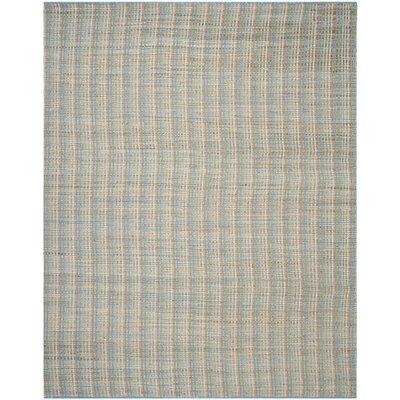 Abia Grey Area Rug Rug Size: 10 x 14