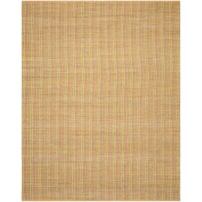Abia Tan Area Rug Rug Size: 8 x 10