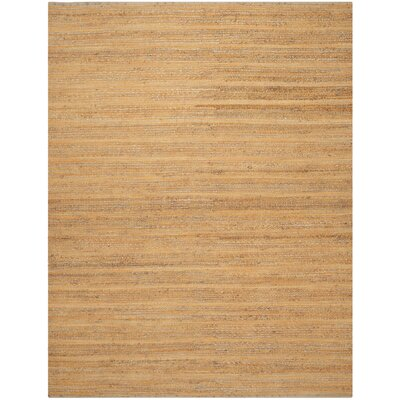 Abia Hand-Woven Orange Area Rug Rug Size: Rectangle 8 x 10