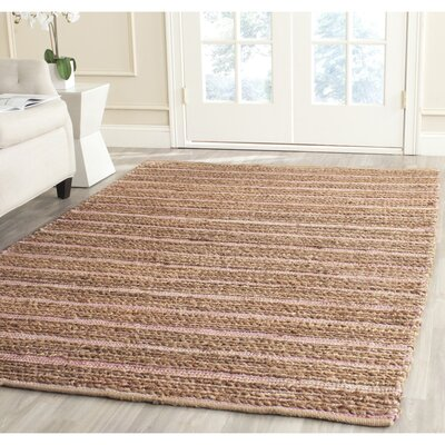 Abia  Hand-Woven Brown Area Rug Rug Size: Runner 23 x 8