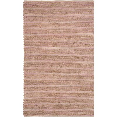 Abia Light Pink Area Rug Rug Size: 4 x 6