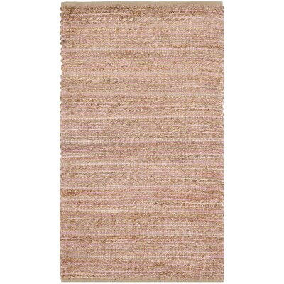 Abia  Hand-Woven Brown Area Rug Rug Size: Rectangle 2 x 3