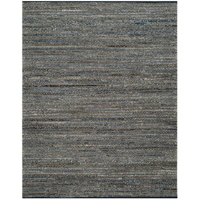 Littleton Dark Blue/Tan Area Rug Rug Size: 8 x 10