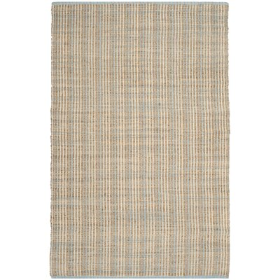 Abia Natural Area Rug Rug Size: 4 x 6