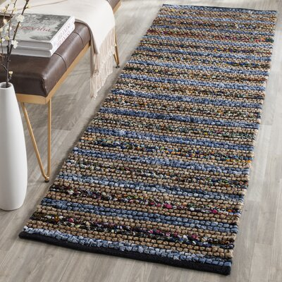 Abia Hand-Woven Area Rug Rug Size: Runner 23 x 6