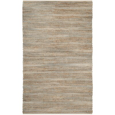 Abia Hand-Woven Beige Area Rug Rug Size: Rectangle 11 x 15