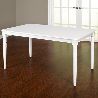 Brookwood Dining Table Table Finish: Bright White
