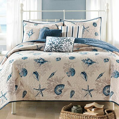 Southhampton Reversible Coverlet Set Size: Full / Queen