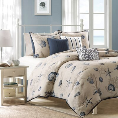 Southhampton 6 Piece Duvet Set Size: Full / Queen