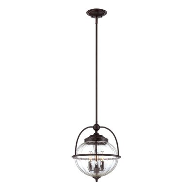 Stonebrook 3-Light Foyer Pendant SEHO8207 32923457