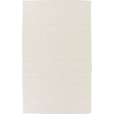 Tinsley Hand-Woven Beige Area Rug Rug size: 2 x 3