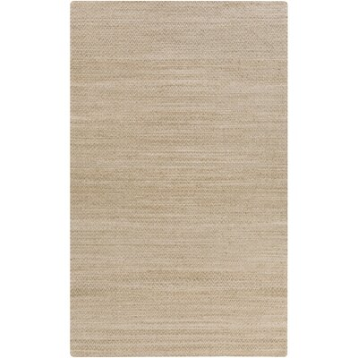 Isabella Hand-Woven Stone Area Rug Rug Size: Rectangle 8 x 11