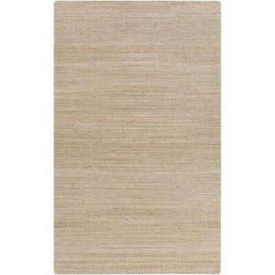 Tinsley Hand-Woven Khaki Area Rug Rug size: 8 x 11