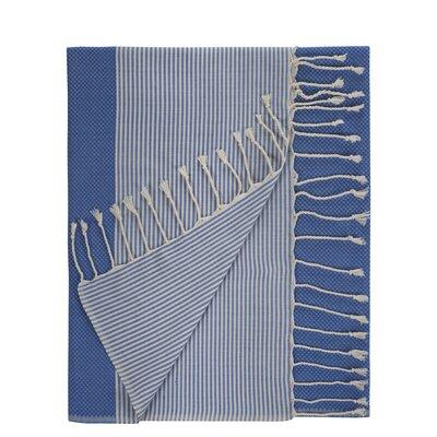 Aegean Cotton Bath Towel Color: True Blue