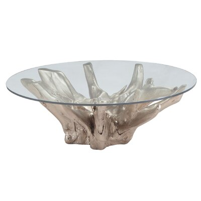 Jadyn Coffee Table Base Color: White