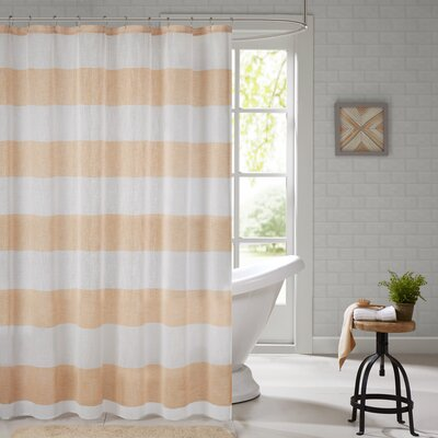 Brimfield Shower Curtain Color: Orange