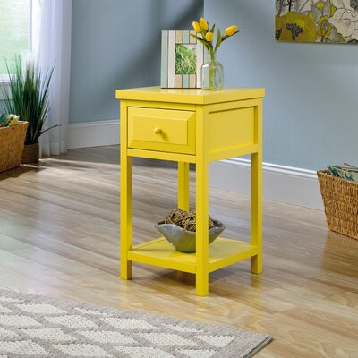 Maquoit Side Table Finish: Sunshine Yellow