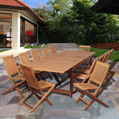 Big Coppitt Key 13 Piece Dining Set