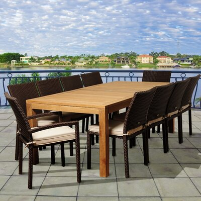 Elsmere 11 Piece Dining Set