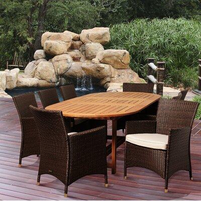 Big Coppitt Key 9 Piece Dining Set With Cushions