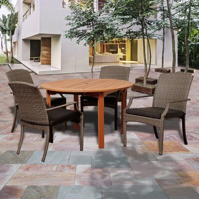 Ashford 5 Piece Dining Set With Cushions