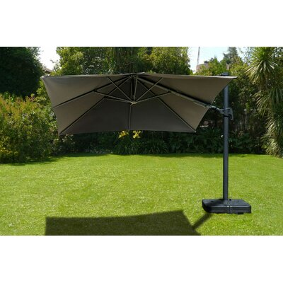 10 Aquia Creek Square Cantilever Umbrella