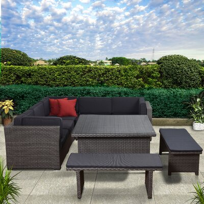 Aquia Creek 9 Piece Patio Set