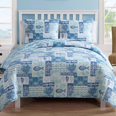 Hopewell 3 Piece Quilt Set Size: King